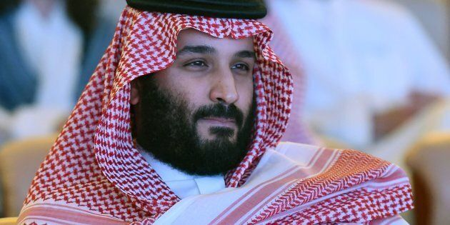 Saudi Crown Prince Mohammed bin Salman attends the Future Investment Initiative (FII) conference in Riyadh,...