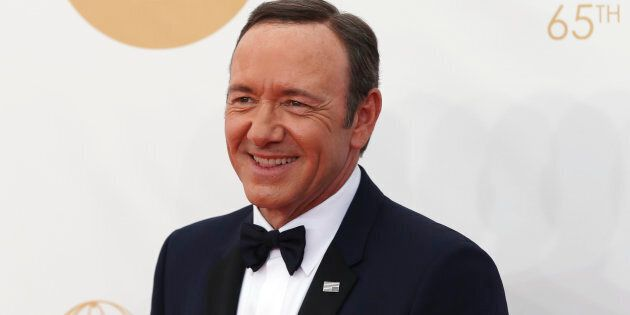 Actor Kevin Spacey arrives at the 65th Primetime Emmy Awards in Los Angeles September 22, 2013. REUTERS/Mario...