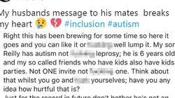 Il figlio autistico non viene invitato ai compleanni. Il messaggio del padre dovrebbe essere letto da