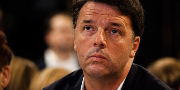 Secretary of PD Party Matteo Renzi during Program Conference of PD at the museum of Pietrarsa, in Naples,...