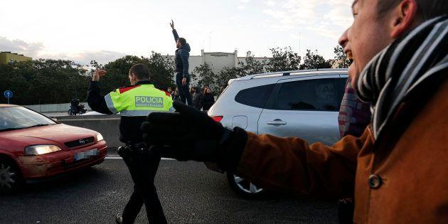 Catalogna, sciopero generale contro la