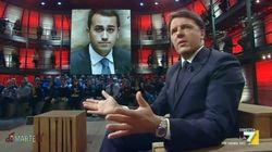 Renzi traina La7 oltre il 9%. La sua intervista a diMartedì triplica gli ascolti di