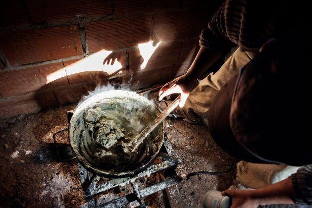 La cucina dove si prepara il