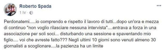 Roberto Spada, fratello del boss Carmine aggredisce l'inviato Rai Daniele Piervincenzi e gli frattura...