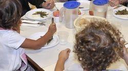 Pane e olio a mensa per gli alunni