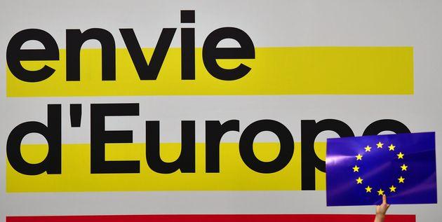 Le slogan pour les élections européennes de la liste Place