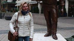 Hanno dedicato una statua al grande Bud Spencer. E sotto le parole di Terence