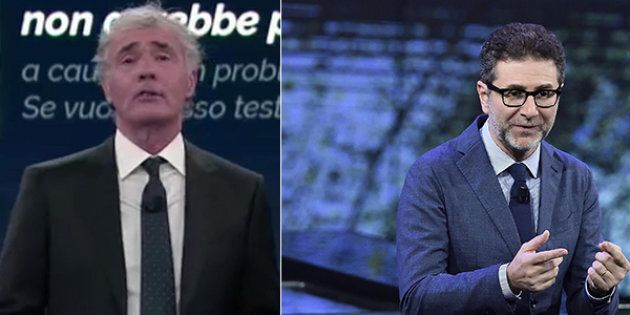 Dati Auditel domenica 12 novembre: Fabio Fazio davanti nella sfida dei talk show.