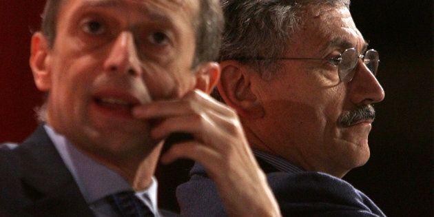 Massimo D'Alema e Pier Luigi Bersani dicono