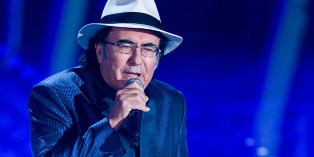 Al Bano attends the third night of the 67th Sanremo Festival 2017 at Teatro Ariston on February 9, 2017...