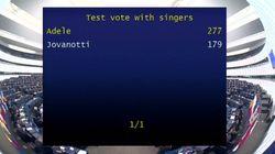 Al Parlamento europeo sfida inedita: si vota tra Adele e