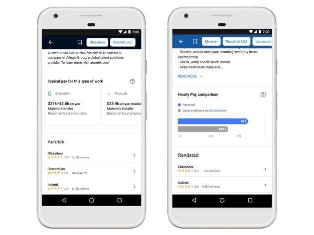 Google sta per rendere la ricerca di lavoro molto più