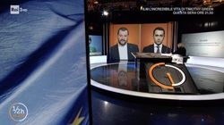 """""""Io vi saluto, lascio la parola all'altro ospite. Arrivederci"""". Di Maio snobba la proposta del duello tv con Salvini. E se ne"""