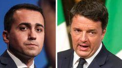 Di Maio vuole uscire dall'euro (se si farà il referendum). Renzi: