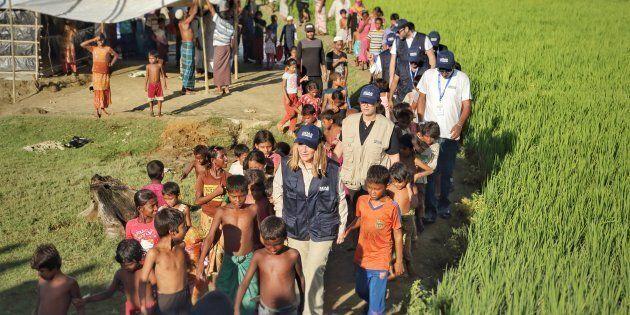Un sopralluogo durante la mia prima permanenza in Bangladesh in occasione dell'inaugurazione della prima...
