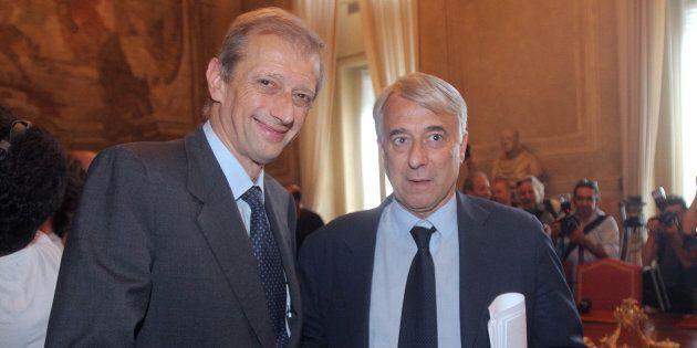 Giuliano Pisapia e Piero