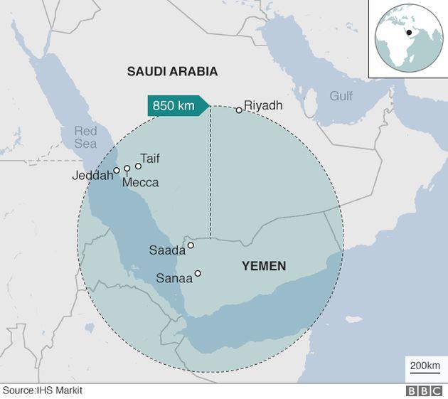 Gli Houti sparano un missile contro il palazzo reale di Riad. Intercettato e abbattuto dai