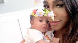 In questo post di Serena Williams si riconosceranno tutte le mamme