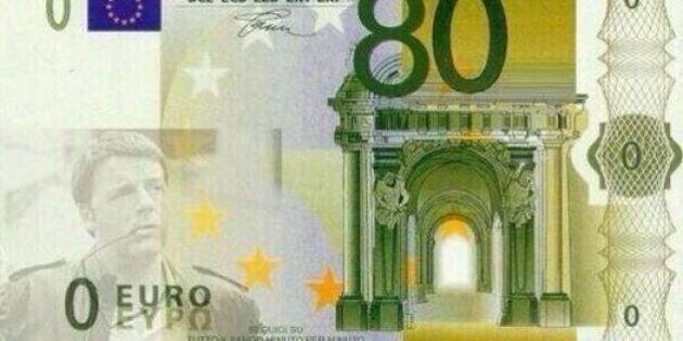 Salvini, come Di Maio, manterrebbe gli 80 euro di Renzi. Il Pd: