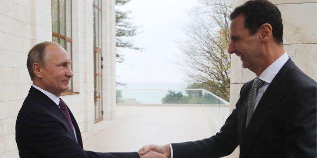 Putin si congratula con Assad per i