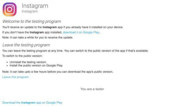 Instagram permetterà agli utenti di sperimentare le novità in anticipo. Ecco come accedere al programma