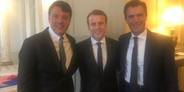 Renzi un'ora a colloquio con Macron all'Eliseo. Sandro Gozi: