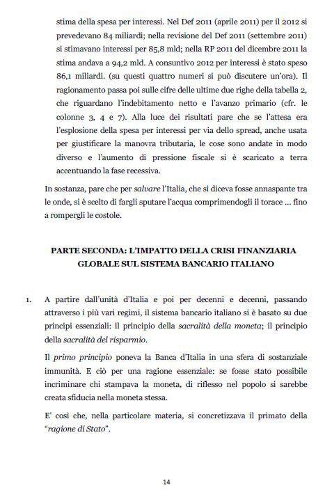 Tremonti non si presenterà davanti alla commissione banche: