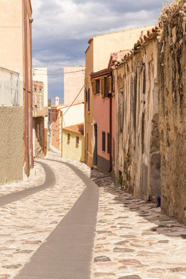 Posada, lanes of the old