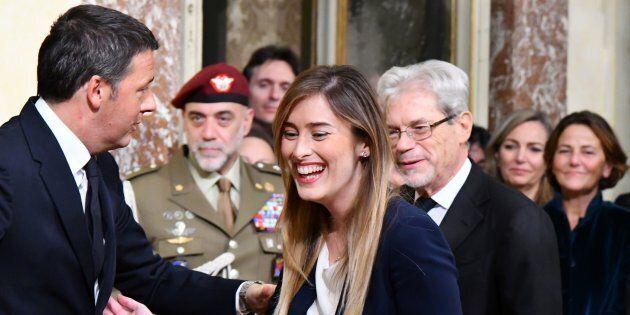 Matteo Renzi difende Maria Elena Boschi: