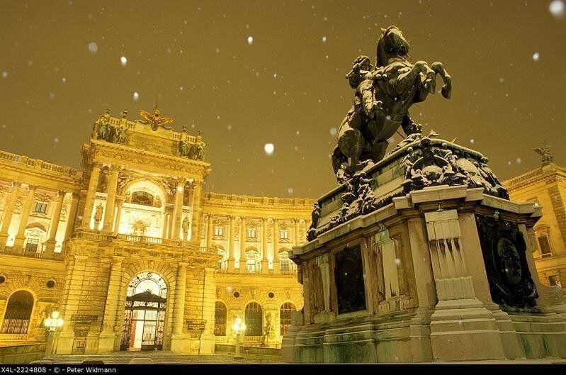 castle Hofburg Vienna, Austria, Vienna, 1. district,