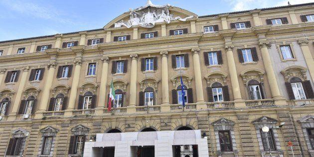 Una veduta del Ministero dell'Economia e Finanze a Roma, 5 gennaio 2017. ANSA/GIORGIO