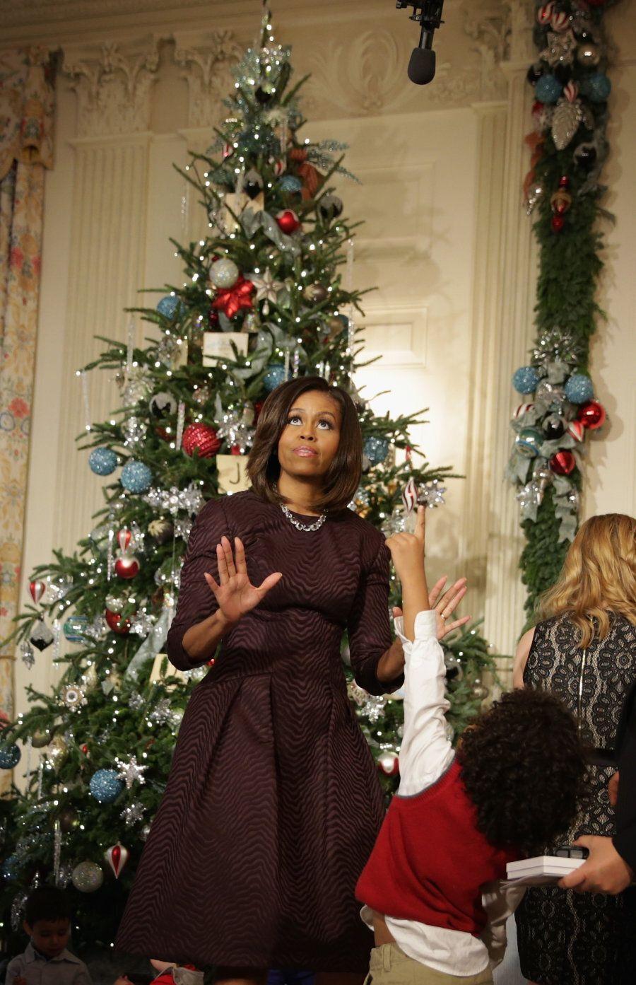 Le decorazioni volute da Melania alla Casa Bianca dimostrano la differenza abissale tra lei e Michelle