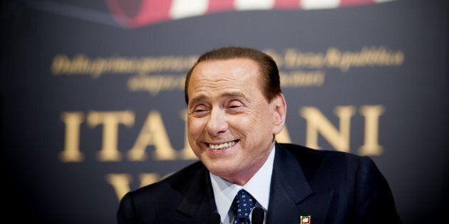 25/11/2014 Roma, presentazione del libro ' Italiani volta gabbana ' . Nella foto Silvio