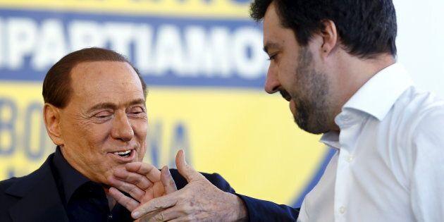 Matteo Salvini a Silvio Berlusconi:
