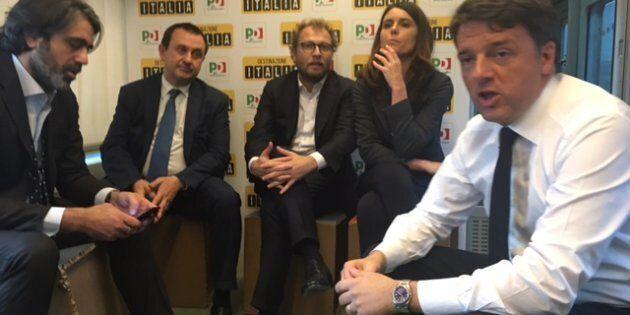 Il Black Friday di Renzi: sul treno per la Leopolda con le promesse per gli alleati presenti e futuri....