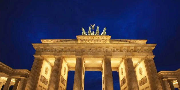 Germany, Berlin, The Brandenburg Gate,