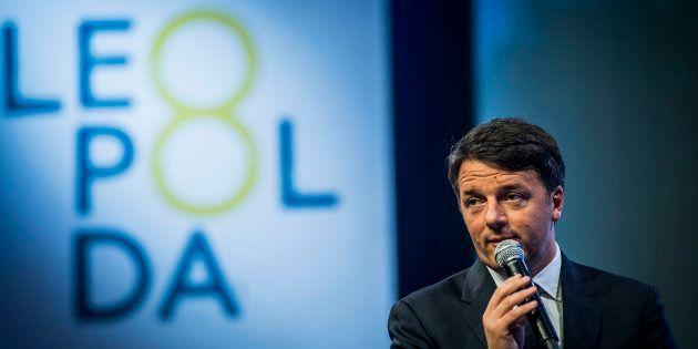 24/11/2017 Firenze, Matteo Renzi inaugura la Leopolda