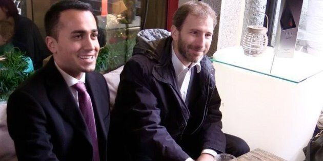 Luigi Di Maio e Davide Casaleggio. ANSA/ ALESSANDRO