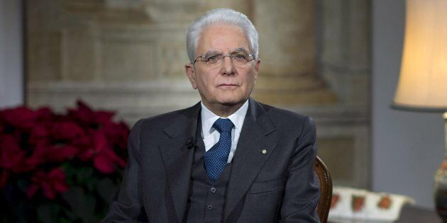 Il presidente della Repubblica, Sergio Mattarella, a margine del suo messaggio di fine anno dal Palazzo...