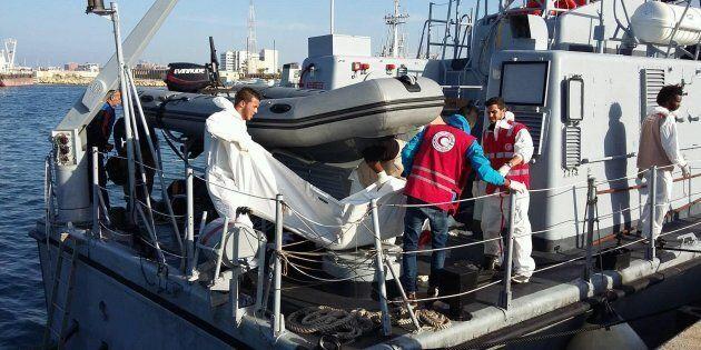 La Marina libica su Facebook: