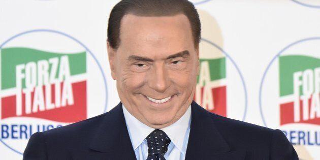 Silvio Berlusconi durante la Convention organizzata da Forza Italia Idee Italia. La voce del Paese. Milano,...
