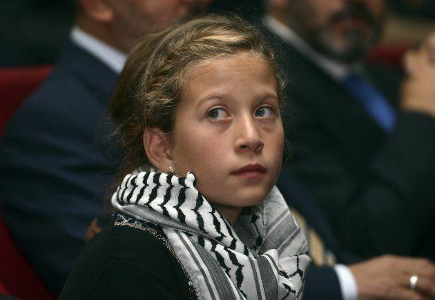 Ahed Tamimi, la 16enne