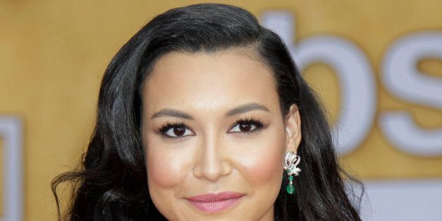 Naya Rivera arrives on the red carpet at the 19th annual Screen Actors Guild Awards on January 27, 2013,...