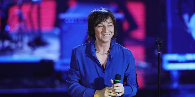 MILAN, ITALY - NOVEMBER 26: Gianna Nannini performs live at 'Che Tempo Che Fa' Tv Show on November 26,...