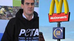 A 7 anni era testimonial di McDonald's. 24 anni dopo è un attivista vegano: