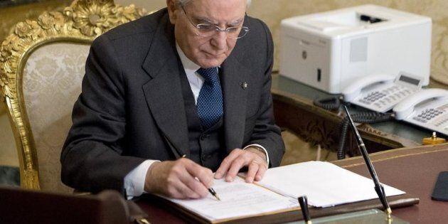 28/12/2017 Roma, Quirinale, il Presidente della Repubblica riceve le alte cariche dello Stato per lo...