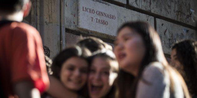 Maurizio Gracceva, prof di filosofia al liceo Tasso di Roma: