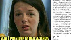 Renzi contro la fake news che lo prende in giro sui sacchetti