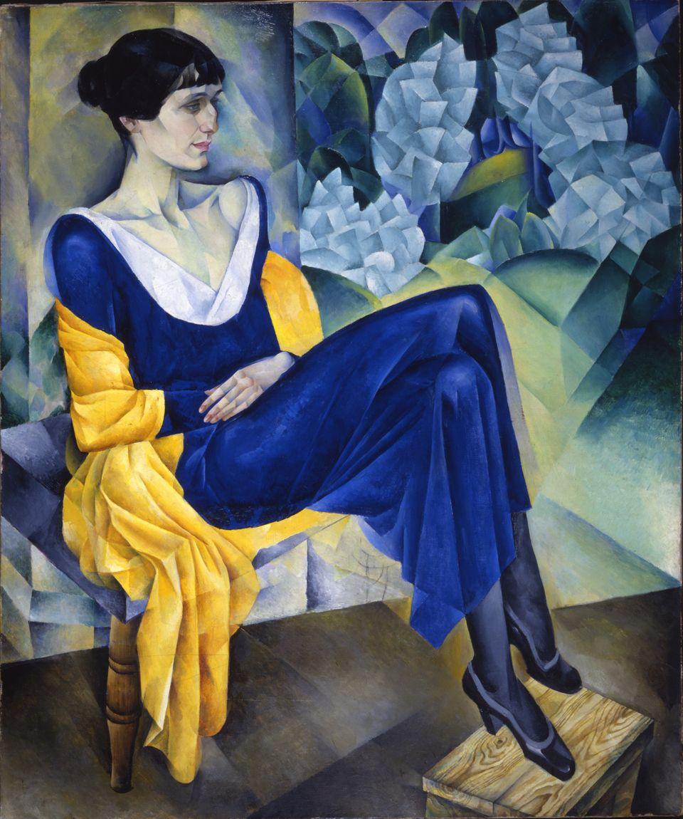 Altman. Ritratto della poetessa Anna