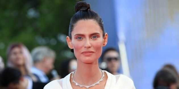 Italian model Bianca Balti arrives for the opening ceremony and screening of 'Downsizing' at the 74th...